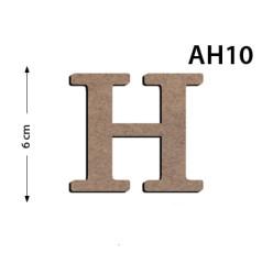 - Ah10 Ahşap 6Cm H Harrf