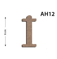 - Ah12 Ahşap 6 Cm İ Harfi