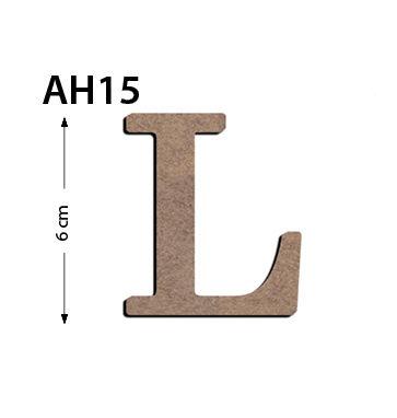 Ah15 Ahsap 6cm L Harfi