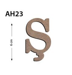 - Ah23 Ahşap 6Cm Ş Harfi