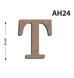 - Ah24 Ahşap 6Cm T Harfi