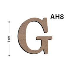 - Ah8 Ahşap 6Cm G Harfi