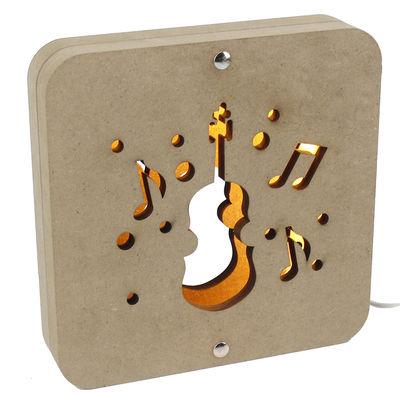 AÜ6 Gitar Motifli Gece Lambası