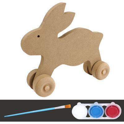 - BS-4 Boyama Seti Oyuncak Tavşan