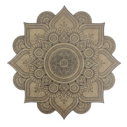 BSM1 Boyalı Sayılı Mandala 12'li Boyama Seti - Thumbnail