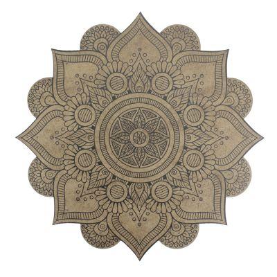 BSM1 Boyalı Sayılı Mandala 12'li Boyama Seti