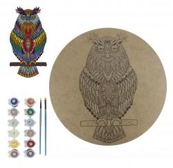 - BSM2 Boyalı Sayılı Mandala 12'li Boyama Seti