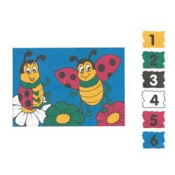 BTS13 Boyama Tuval Sayılı Set 25x35 - Thumbnail
