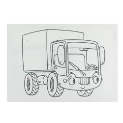 BTS16 Boyama Tuval Sayılı Set 25x35 - Thumbnail