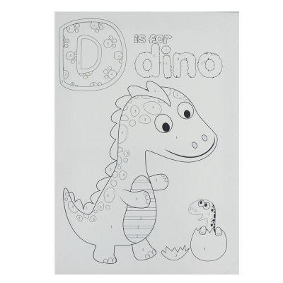 BTS2 Boyama Tuval Sayılı Set 25x35 Dino