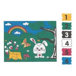 BTS24 Boyama Tuval Sayılı Set 25x35 - Thumbnail