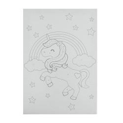 BTS5 Boyama Tuval Sayılı Set 25x35 Unicorn - Thumbnail