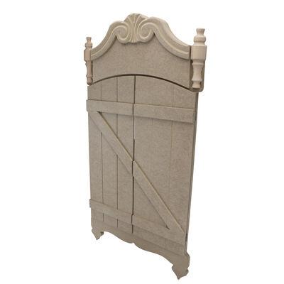 Ç24 Kapaklı Ahşap Dekoratif Duvar Çerçevesi