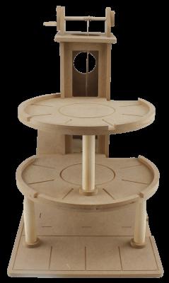 ÇG33 Asansörlü Katlı Otopark