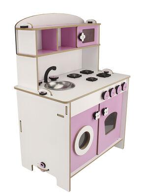 ÇG36 Küçük Çocuk Oyun Mutfağı Pembe