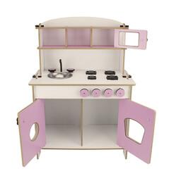 ÇG36 Küçük Çocuk Oyun Mutfağı Pembe - Thumbnail