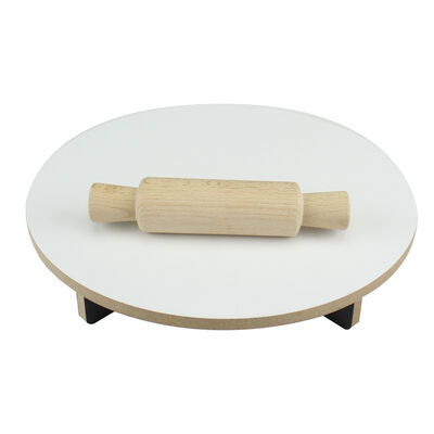ÇG41 Ahşap Merdane ve Masası