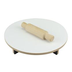ÇG41 Ahşap Merdane ve Masası - Thumbnail