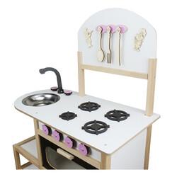 ÇG42 Ahşap Çocuk Mutfak Seti - Thumbnail