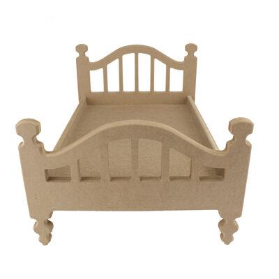 ÇG47 Ahşap Oyuncak Bebek Yatağı 50 cm