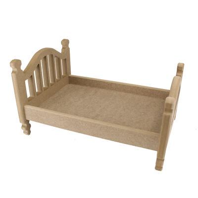 ÇG48 Ahşap Oyuncak Bebek Yatağı 35 cm