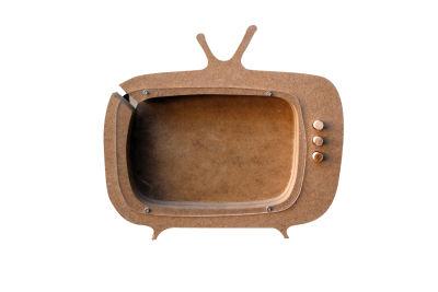 - ÇG5 Tv Kumbara Ahşap Obje