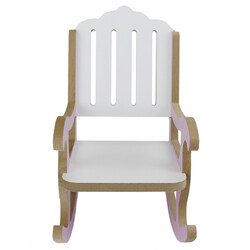ÇG50 Ahşap Çocuk Sallanan Sandalye - Thumbnail