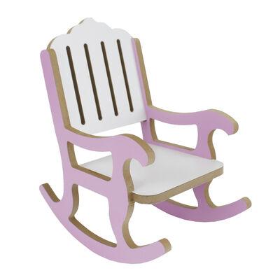 - ÇG50 Ahşap Çocuk Sallanan Sandalye