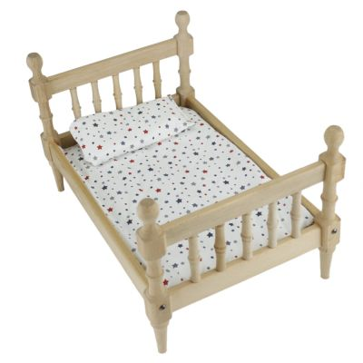 ÇG69 Doğal Ağaç Oyuncak Çocuk Yatağı