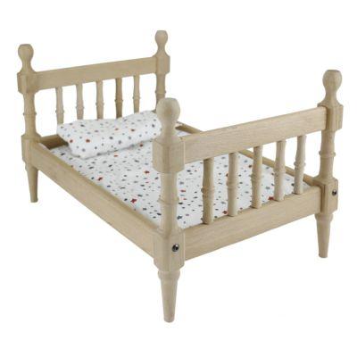 - ÇG69 Doğal Ağaç Oyuncak Çocuk Yatağı