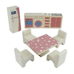 ÇG70 Ahşap Boyalı Çocuk Oyun Seti - Thumbnail