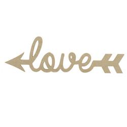 D18 Ahşap Love Yazısı - Thumbnail