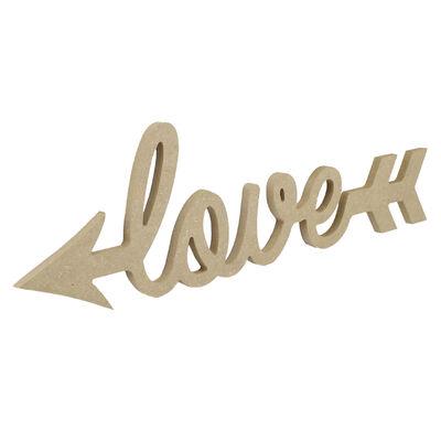- D18 Ahşap Love Yazısı
