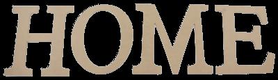 D42 Home Büyük Yazı Seti