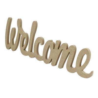 D46 Welcome Yazı