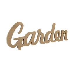 - D58 Ahşap Garden Yazısı