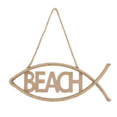 D59 Beach Yazı Hasır İpli