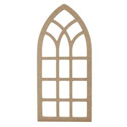 - D65 Ahşap Pencere Duvar Süsü Büyük
