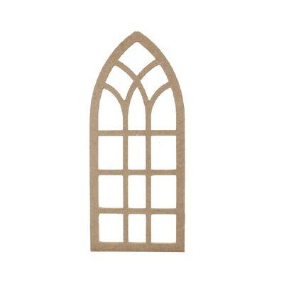 D66 Ahşap Pencere Duvar Süsü Küçük