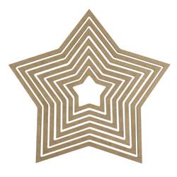 - D68 Yıldız Makrome Kasnağı 7'li
