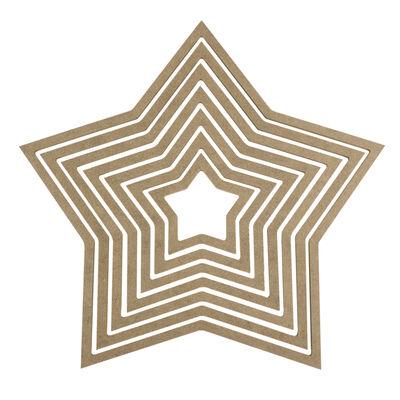 D68 Yıldız Makrome Kasnağı 7'li