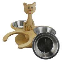 EH26 Doğal Ağaç Üçlü Kedi Mamalık - Thumbnail
