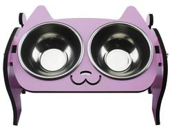EH9 Kedi Mamalık Pembe İkili - Thumbnail