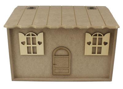 EP2 Ahşap Ekmeklik Kapı Pencereli