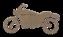 - F38 - Ahşap Motosiklet