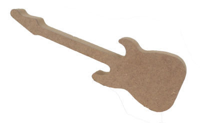 F68 Ahşap Gitar Biblo