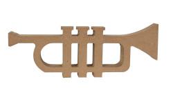 - F70 Ahşap Trompet Biblo