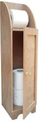 - H5 Stoklu Tuvalet Kağıtlık Dolaplı Ahşap Obje