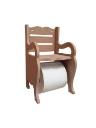 - KD20 Bank Tuvalet Kağıtlık Ahşap Obje