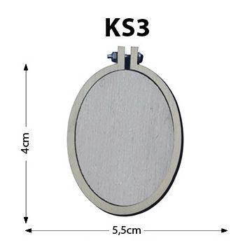 - Ks3-Dikey Oval Kasnak